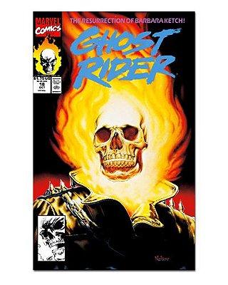 Ímã Decorativo Capa de Quadrinhos Ghost Rider - CQM219