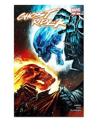 Ímã Decorativo Capa de Quadrinhos Ghost Rider - CQM220