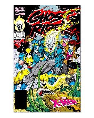 Ímã Decorativo Capa de Quadrinhos Ghost Rider - CQM221