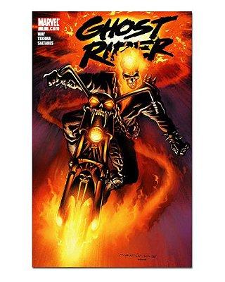 Ímã Decorativo Capa de Quadrinhos Ghost Rider - CQM223