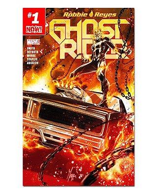 Ímã Decorativo Capa de Quadrinhos Ghost Rider - CQM225