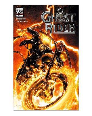 Ímã Decorativo Capa de Quadrinhos Ghost Rider - CQM226