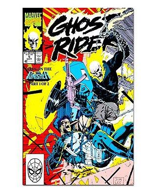 Ímã Decorativo Capa de Quadrinhos Ghost Rider - CQM227
