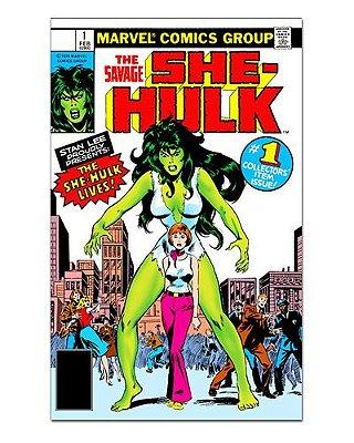 Ímã Decorativo Capa de Quadrinhos She-Hulk - CQM230