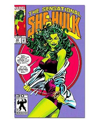 Ímã Decorativo Capa de Quadrinhos She-Hulk - CQM231