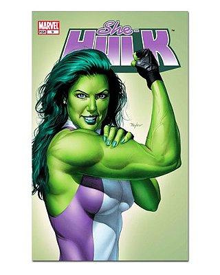 Ímã Decorativo Capa de Quadrinhos She-Hulk - CQM233