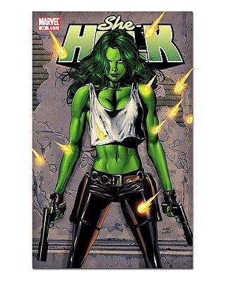 Ímã Decorativo Capa de Quadrinhos She-Hulk - CQM238