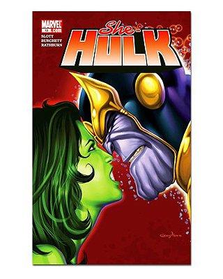 Ímã Decorativo Capa de Quadrinhos She-Hulk - CQM240