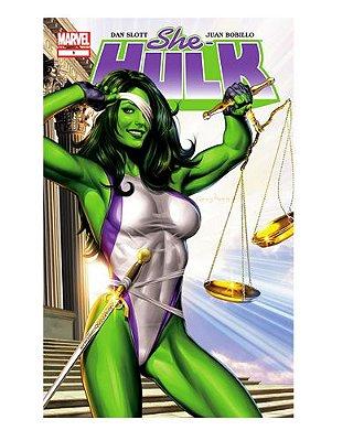 Ímã Decorativo Capa de Quadrinhos She-Hulk - CQM241