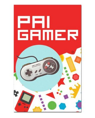 Ímã Decorativo Pai Gamer - Cute - IDF37