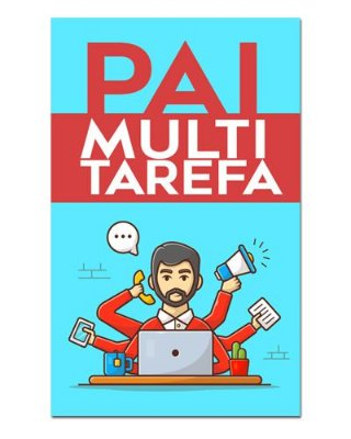 Ímã Decorativo Pai Multitarefa - Cute - IDF39