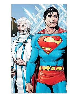 Ímã Decorativo Superman e Jor-El - DC Comics - IDF54