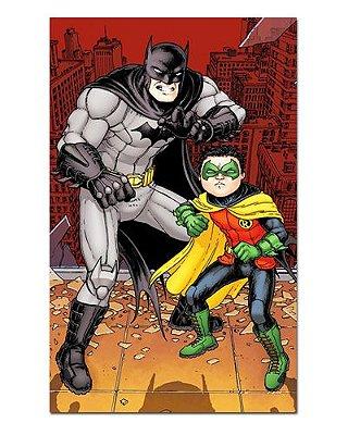 Ímã Decorativo Batman e Robin - DC Comics - IDF51