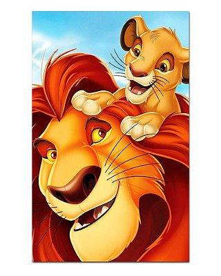Ímã Decorativo Mufasa e Simba - O Rei Leão - IDF50
