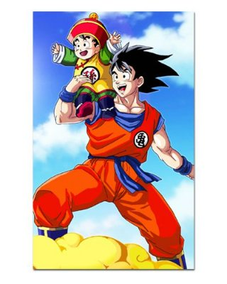 Ímã Decorativo Goku e Gohan - Dragon Ball - IDF55