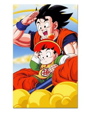 Ímã Decorativo Goku e Gohan - Dragon Ball - IDF56
