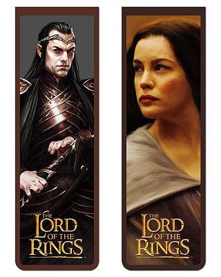 Pack Marcador Magnético - Elrond e Arwen - Senhor dos Anéis - PKP01