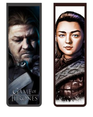 Pack Marcador Magnético - Ned e Arya - Game of Thrones - PKP03