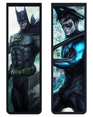 Pack Marcador Magnético - Batman e Asa Noturna - DC Comics - PKP11