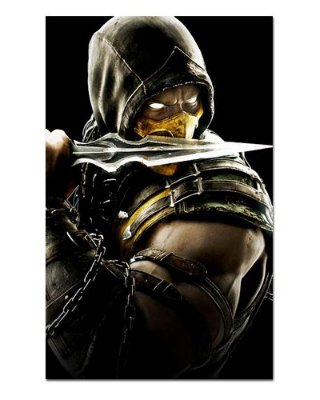 Ímã Decorativo Scorpion - Mortal Kombat - IMG01