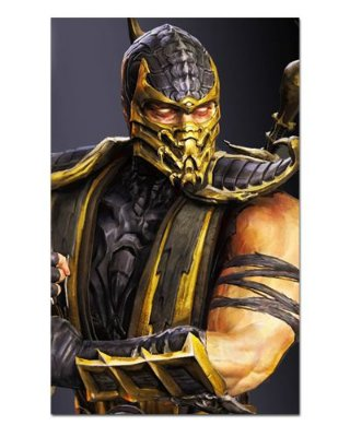 Ímã Decorativo Scorpion - Mortal Kombat - IMG02