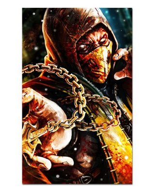 Ímã Decorativo Scorpion - Mortal Kombat - IMG04