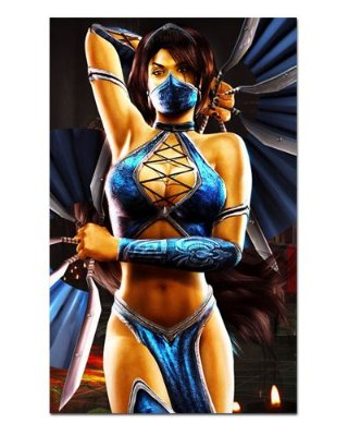 Ímã Decorativo Kitana - Mortal Kombat - IMG13