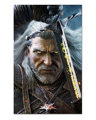 Ímã Decorativo Geralt - The Witcher - IMG22