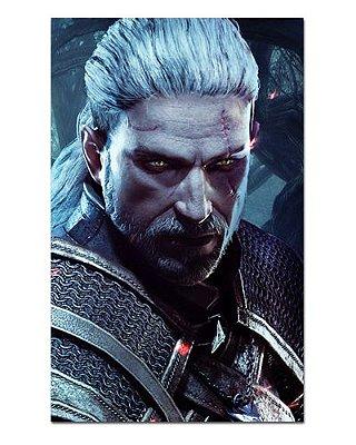 Ímã Decorativo Geralt - The Witcher - IMG24