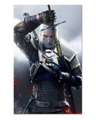 Ímã Decorativo Geralt - The Witcher - IMG25