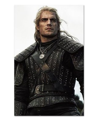 Ímã Decorativo Geralt - The Witcher - IMG29