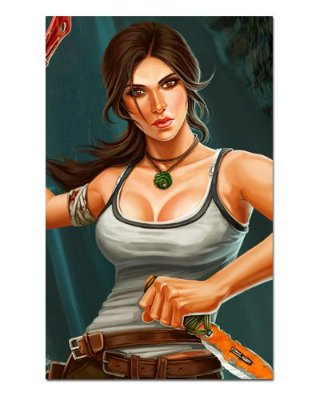 Ímã Decorativo Lara Croft - Tomb Raider - IMG46