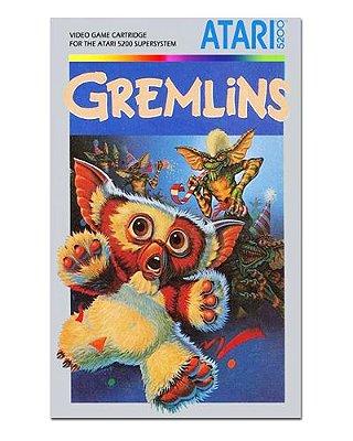Ímã Decorativo Capa de Game - Gremlins - ICG03
