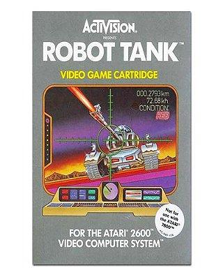 Ímã Decorativo Capa de Game - Robot Tank - ICG12