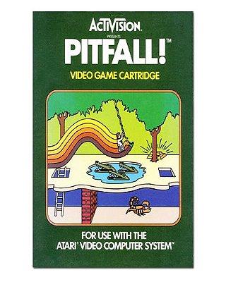 Ímã Decorativo Capa de Game - Pitfall - ICG16