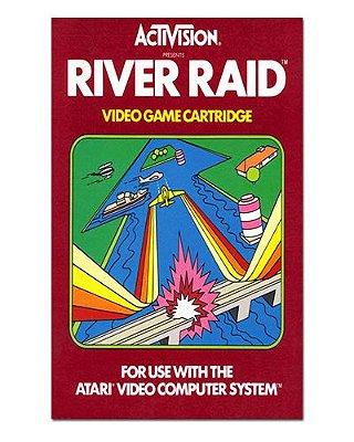 Ímã Decorativo Capa de Game - River Raid - ICG17