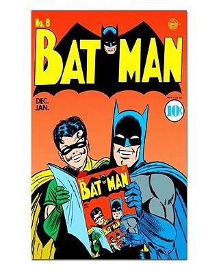Ímã Decorativo Capa de Quadrinhos - Batman - CQD175