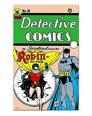 Ímã Decorativo Capa de Quadrinhos - Batman - CQD177