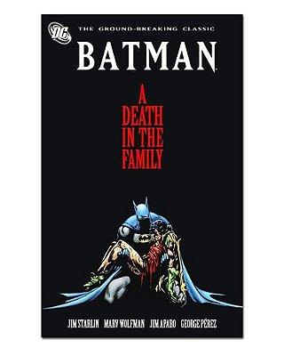 Ímã Decorativo Capa de Quadrinhos - Batman - CQD186