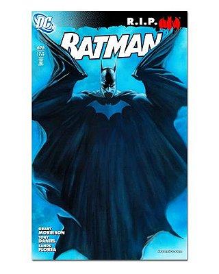 Ímã Decorativo Capa de Quadrinhos - Batman - CQD187