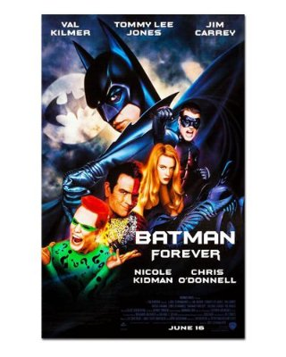 Ímã Decorativo Pôster Batman Forever - IPF621