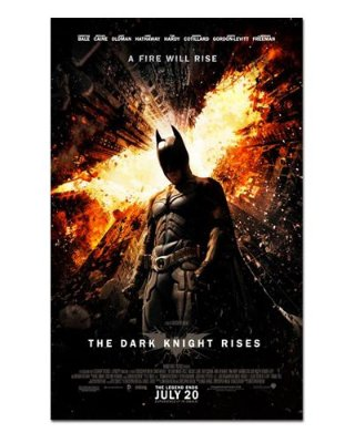 Ímã Decorativo Pôster Batman The Dark Knight Rises - IPF632