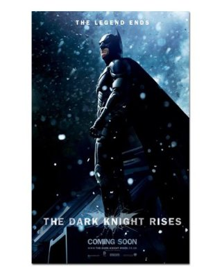 Ímã Decorativo Pôster Batman The Dark Knight Rises - IPF636