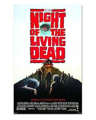 Ímã Decorativo Pôster A Noite dos Mortos-Vivos (1990) - IPF669