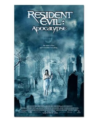 Ímã Decorativo Pôster Resident Evil 2 - IPF672