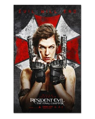 Ímã Decorativo Pôster Resident Evil 6 - IPF676
