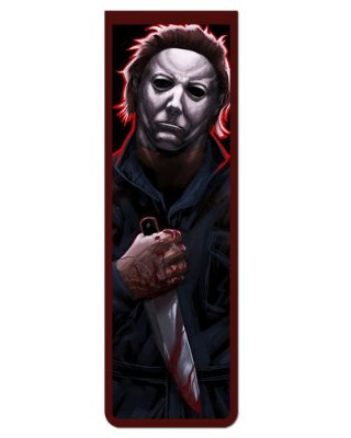 Marcador De Página Magnético Michael Myers - Halloween - MFI298