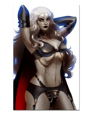 Ímã Decorativo Lady Death - ITE12