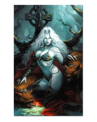 Ímã Decorativo Lady Death - ITE13