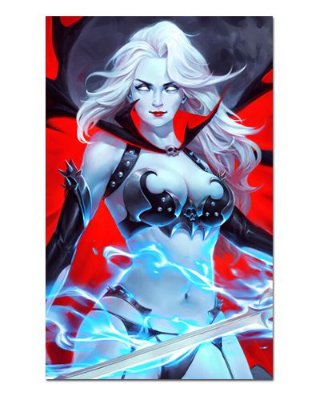 Ímã Decorativo Lady Death - ITE14